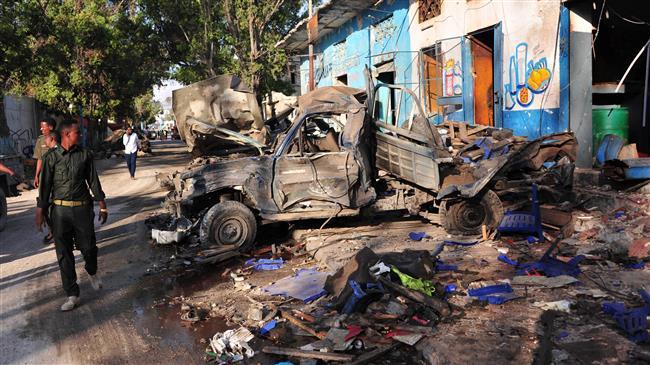 Photo of Al-Shabab twin bomb attacks kill 18 in Somali capital Mogadishu