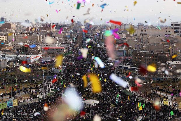 Photo of Iranians mark 39th anniv. of Islamic Revolution across Iran