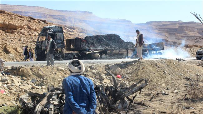 Photo of Over dozen Yemeni civilians killed in new Saudi raids