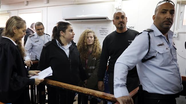 Photo of Israeli military trial opens for Palestinian girl hero