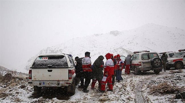 Photo of Iran halts search operation for crashed plane victims due to heavy snow