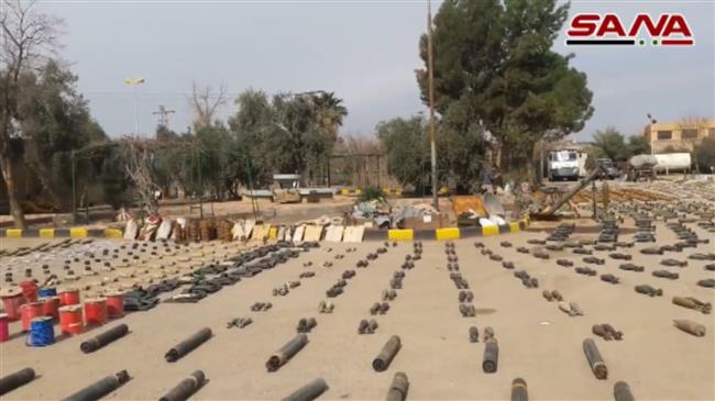 Photo of Syrian army discovers Israeli weapons in Daesh hideouts