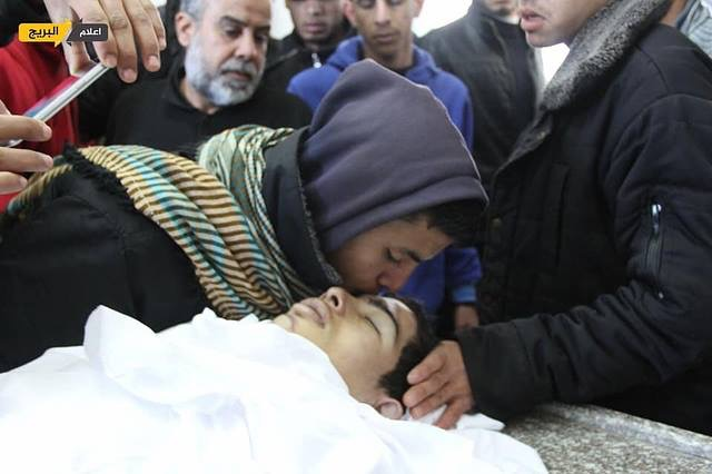 Photo of 19 year old Gazan martyred from Israeli bullet wounds