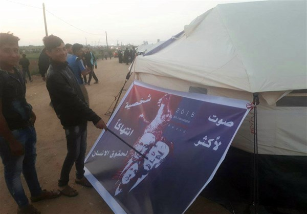 Photo of Photos- Palestinian Demonstrators Vote for World Class Threat to Human Rights