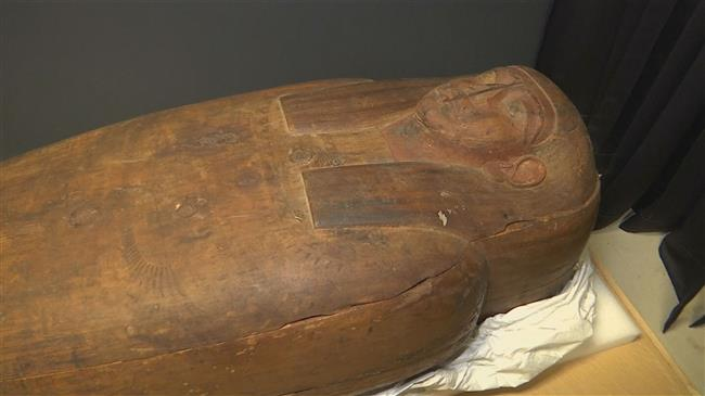 Photo of 2,500-year-old Egypt mummy accidentally found in Sydney