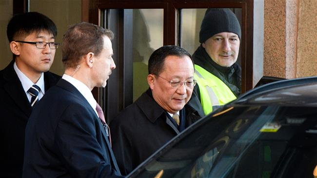 Photo of North Korea's foreign minister meets Swedish prime minister