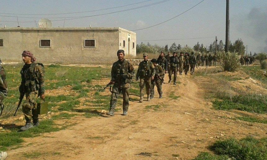 Photo of Developing: Syrian Army troops amassing around Douma as ceasefire period ends