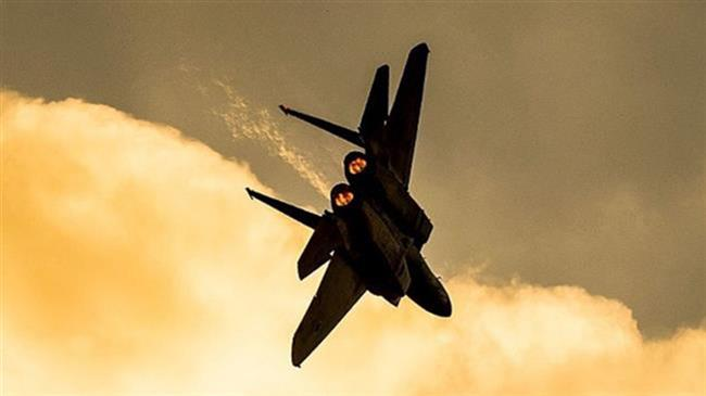 Photo of Occupaton jets target Hamas positions in Gaza Strip