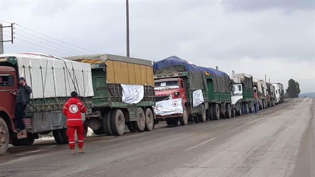 Photo of Aid convoy heading to northern Syria amid clashes with Turkey: ICRC