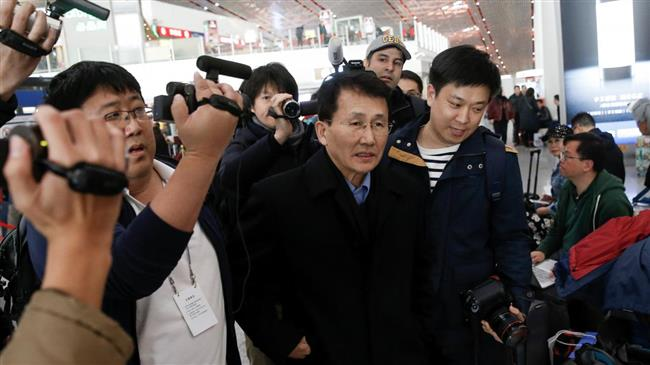 Photo of North Korean diplomat leaves for Finland to attend Western-dominated meeting