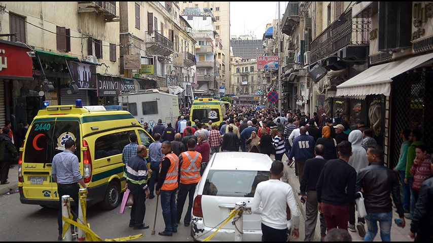 Photo of Explosion kills two people in Egypt's coastal city of Alexandria