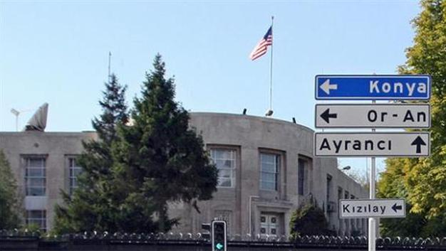 Photo of Satanic US Embassy in Ankara Closed over Security Threat