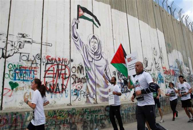 Photo of Palestinians run Al-Quds marathon in spite of occupation