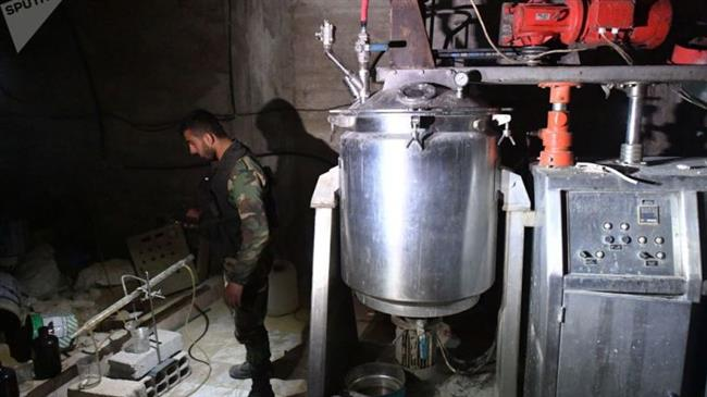 Photo of Syrian forces discover UK, German-made chemical weapons depot in Douma