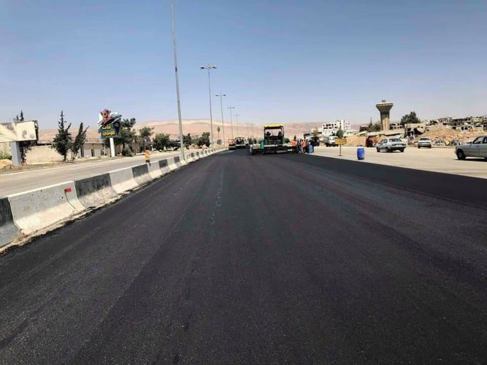 Photo of Syrian government begins reopening strategic highway in Damascus