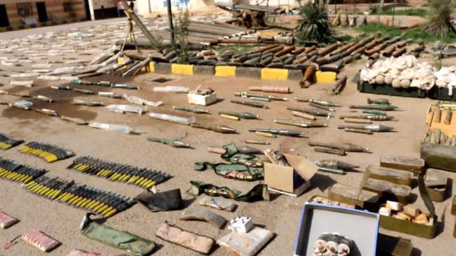 Photo of Syrian army forces uncover Israeli, NATO-made munitions in Dayr al-Zawr