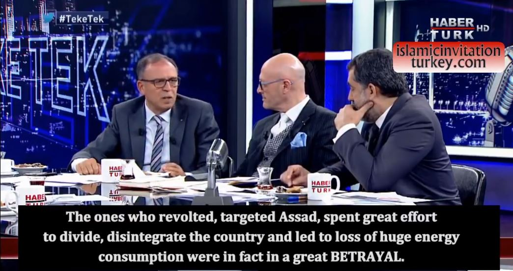 """Photo of EXC.VIDEO: """"The operation to overthrow Assad was American, israel, west's great plot to save zionist regime!!"""""""