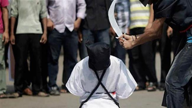 Photo of Inhuman rabid zionist Saudi regime raises number of beheading by 70%