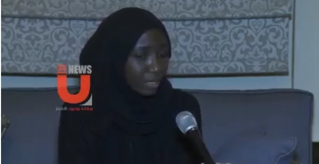 Photo of Daughter of Sheikh Zakzaky Talks about Her Father's Situation