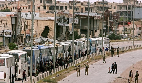 Photo of Evacuation of 5,000 Terrorists Starts in Southern Damascus