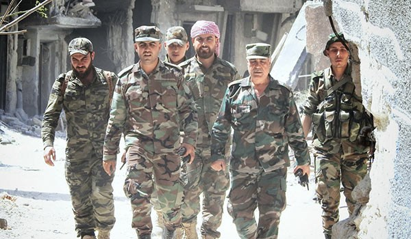 Photo of Syria in Last 24 Hours: Army Keeps Rolling on Terrorist Centers in Southern Damascus