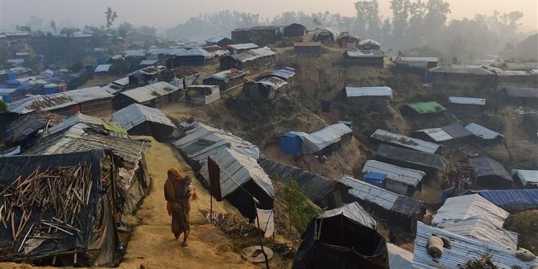 Photo of Rohingya in Bangladesh vulnerable to incoming monsoon