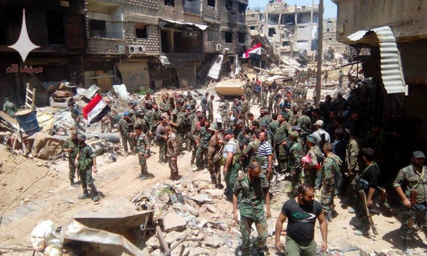 Photo of Breaking: Syrian, Palestinian forces fully liberate Yarmouk Camp