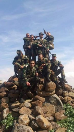 Photo of Syrian Army troops in southern Damascus to head new offensive in Daraa, Quneitra
