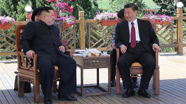 Photo of North Korean, Chinese leaders meet for second time in two months