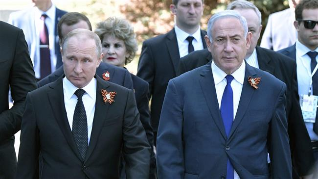 Photo of Zionist Netanyahu visits zionist Putin after Israel strikes Syria