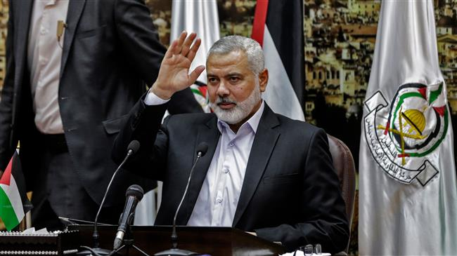 Photo of Hamas leader in Cairo ahead of Gaza protests against US embassy move