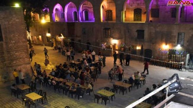 Photo of Photos-'Ramadan of Aleppo more beautiful' event revitalizes old city
