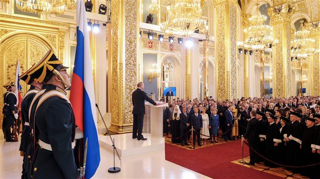 Photo of Russian dictator Putin inaugurated for fourth term as president of Russia