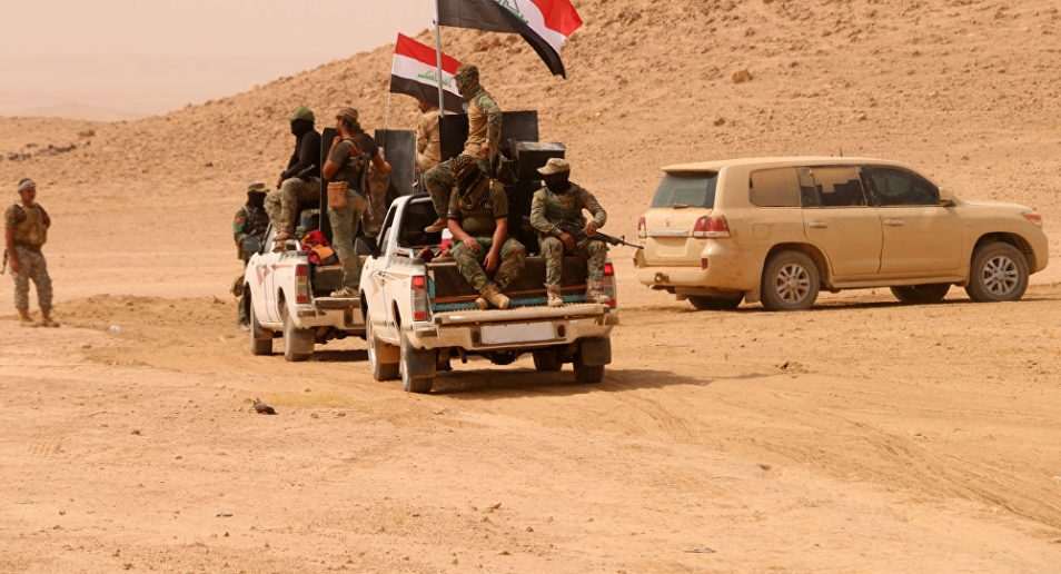 Photo of Iraqi forces foil ISIL's attempt to infiltrate from Syria