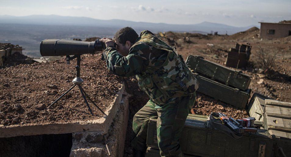Photo of Syrian Army strikes terrorist reinforcements near occupied Golan Heights