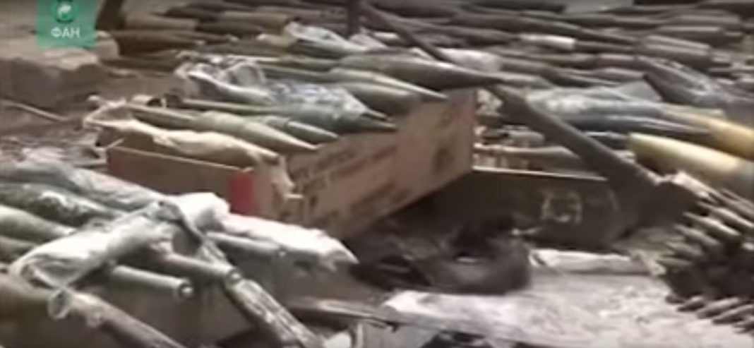 Photo of Syrian Army uncovers weapon caches in liberated East Ghouta town