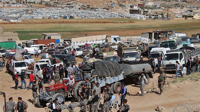Photo of Hundreds of refugees in Lebanon returning to Syria