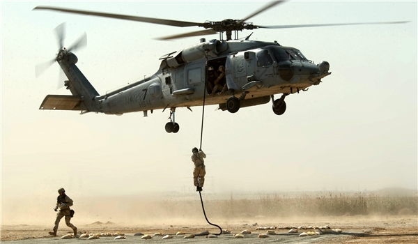 Photo of Hasaka: Great Satan US Conducts Another Heliborne Operations to Rescue Foreign ISIL Commanders