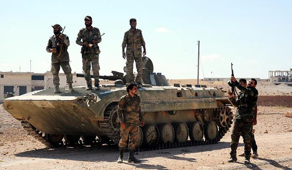 Photo of Syrian Army Wins back More Lands in Badiyeh of Sweida