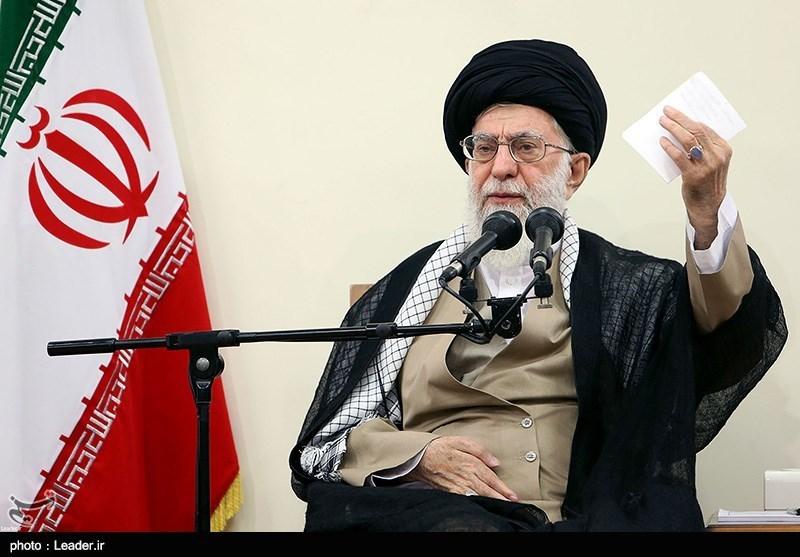 Photo of Leader of Islamic Ummah and Oppressed Imam Ali Khamenei Underlines Judicial Action against Disruption to Iran's Economy