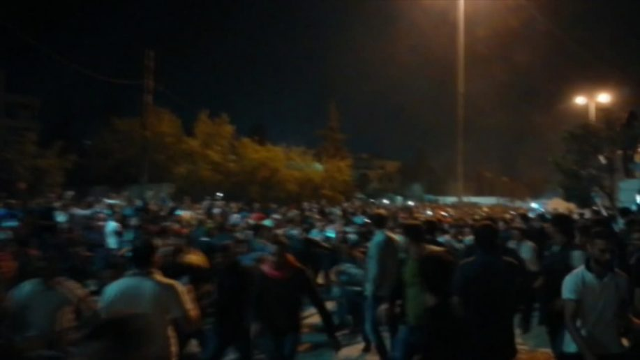 Photo of Jordanian protests continue for 3rd consecutive night
