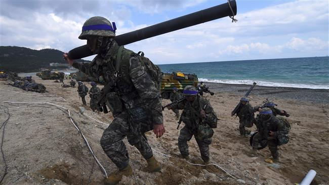 Photo of South Korea, US to announce suspension of large-scale drills: Korean source