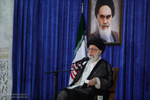 Photo of Imam Sayyed Ali Khamenei: Iran May Not Continue N. Deal Under Sanctions