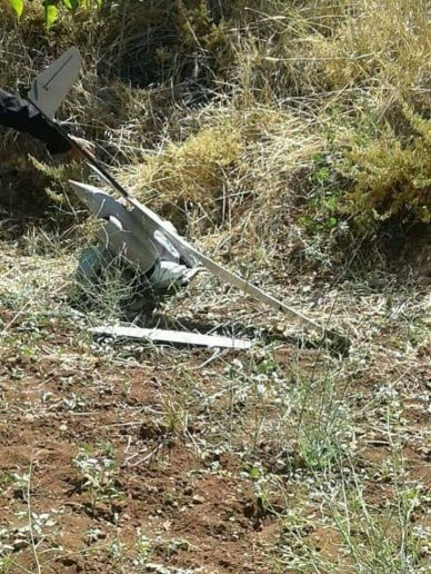 Photo of Syrian military says zionist israeli UAV downed near occupied Golan Heights