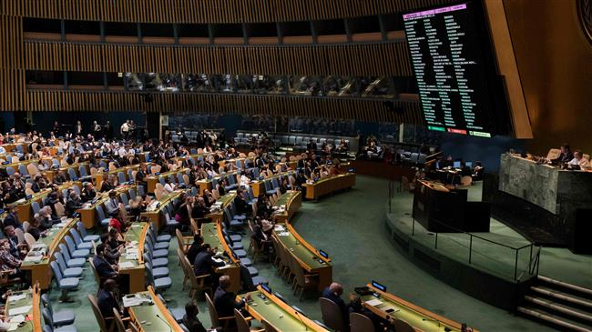 Photo of 120 nations at UN slam zionist israeli killing of Palestinians