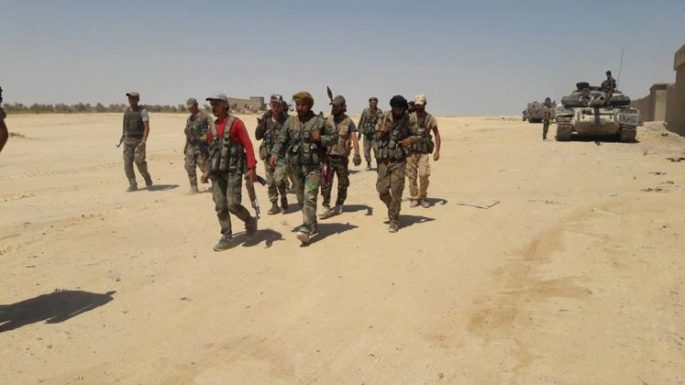 Photo of Syrian army, allies' reinforcements enter eastern Syria in large numbers