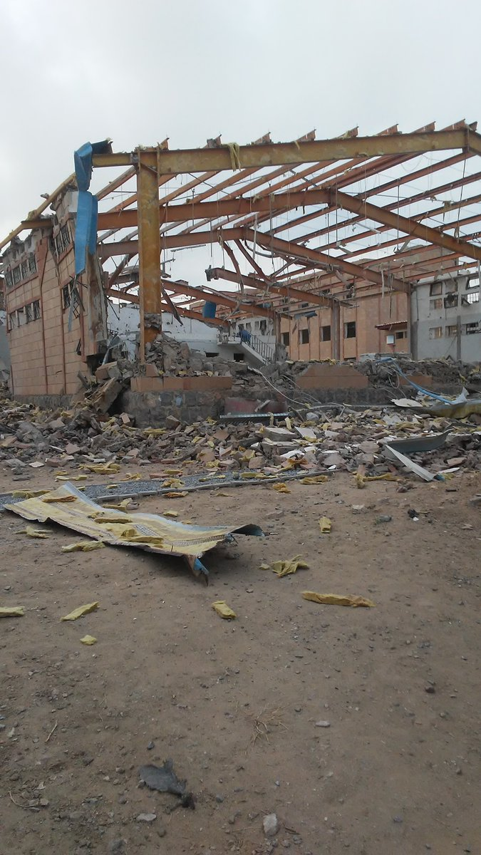 Photo of Inhuman zionist Saudi-Led Coalition Targeted Cholera Treatment Center in Yemen's Hajjah