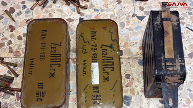 Photo of Syrian govt. forces discover Israeli-made bombs in terrorist weapons cache