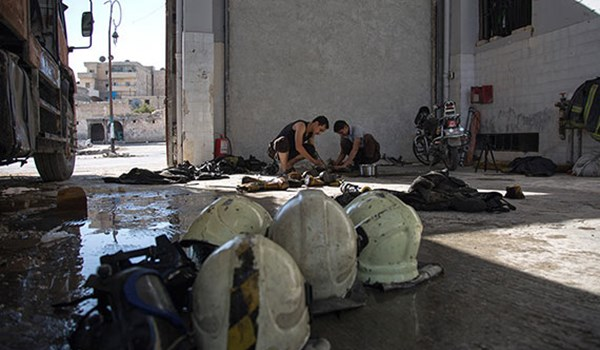 Photo of More Equipment of White Helmets Discovered at ISIL's Positions in Southern Syria