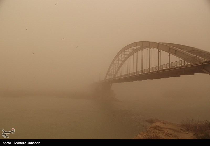 Photo of Khuzestan Chokes as Haze from Fire in Iraq Blankets Southwest Iran